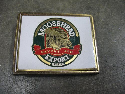 Vintage Moosehead Export Ale Belt Buckle