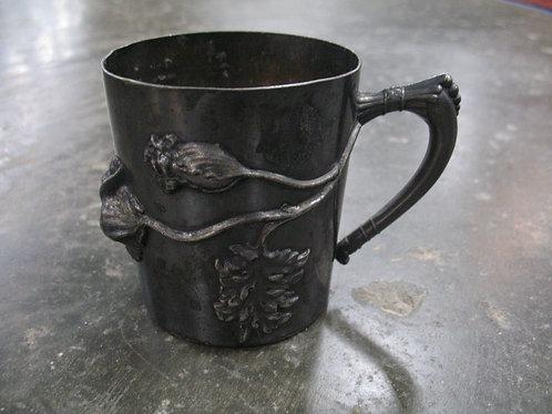 Antique Webster Quadruple Plated Tea Cup Holder