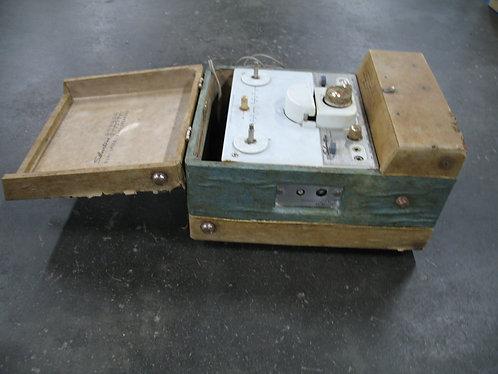 Vintage Sears Silvertone Model 232 Tube Reel to Reel Tape Player Recorder