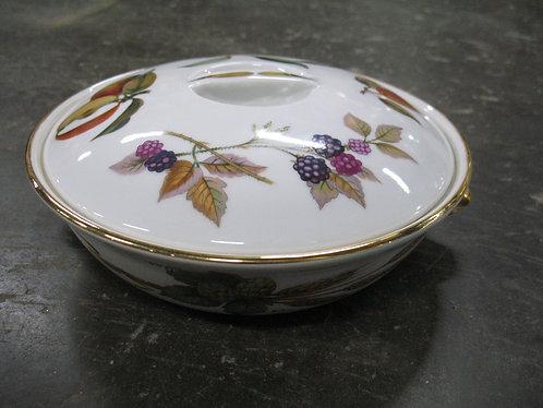 Vintage Royal Worcester Round Covered Casserole/Vegetable Dish