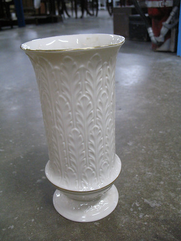 Vintage Lenox USA Cream Porcelain Vase