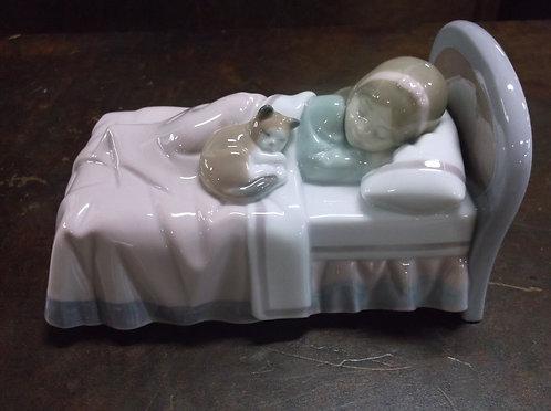 Vintage Lladro 6540 Cozy Companions Figurine