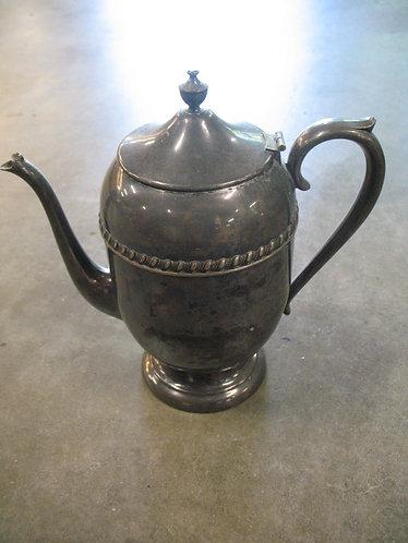 Vintage Silver on Copper Teapot