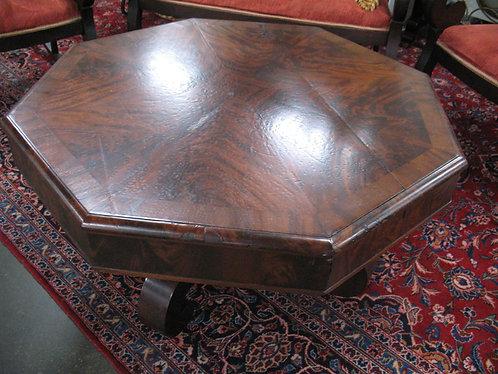 Antique Empire Octagonal Coffee Table