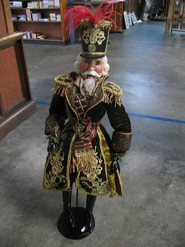 Wayne Kleski Regal Soldier Marionette Nutcracker