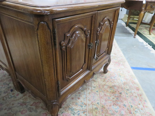 Vintage Solid Wood French Chest by Thomasville Furniture