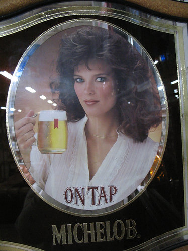 1983 Michelob On Tap Advertising Mirror