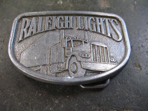 Vintage Raleigh Lights Metal Belt Buckle