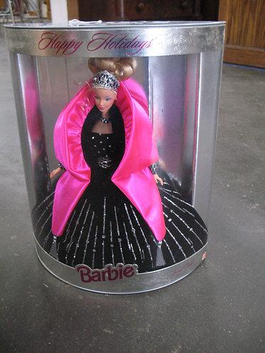 1998 Happy Holidays Barbie NIB