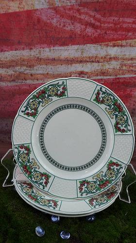 Vintage Wedgwood Hythe Etruria, England Floral Plate