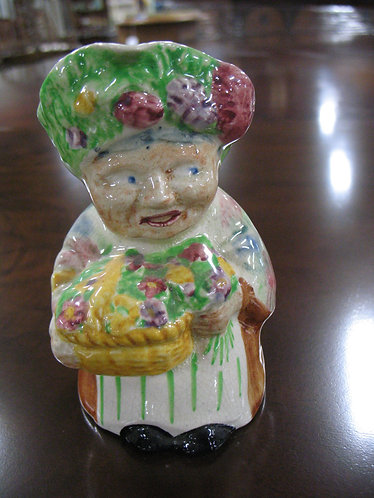 Antique Shorter & Sons England Flower Seller Toby Mug