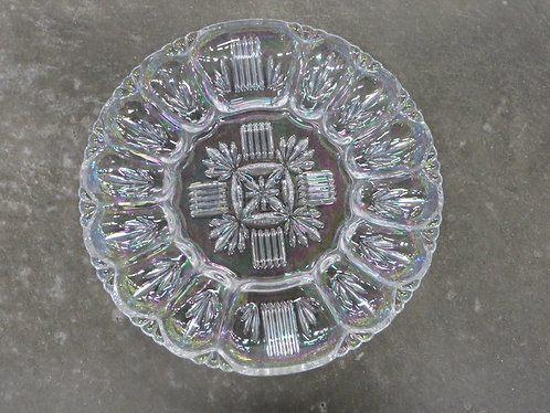 Vintage Federal Carnival Glass Egg Plate