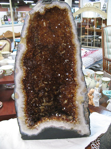 Citrine Crystal Cathedral Geode