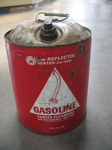 Vintage Reflector Vented Can-Tainer Gas Can
