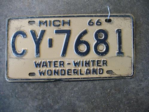 1966 Michigan Water-Winter Wonderland CY-7681