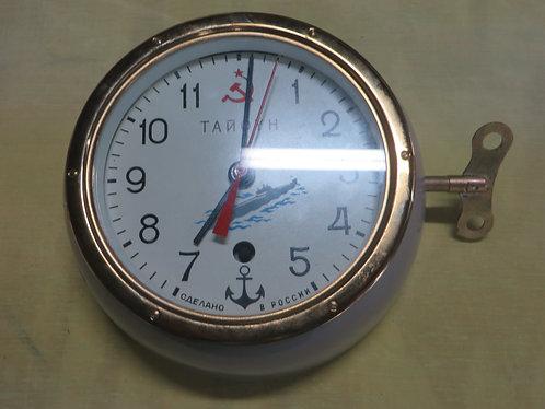 Vintage Russian Tanoyh 8 Day Submarine Clock