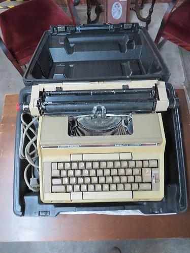 Vintage Smith Corona Electric Typewriter with hard case