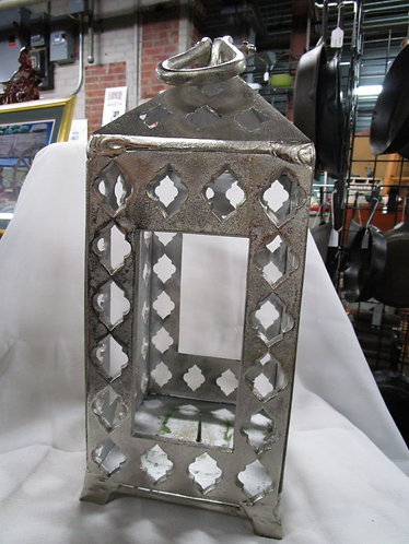 Arabesque Metal Candle Indoor/Outdoor Lantern
