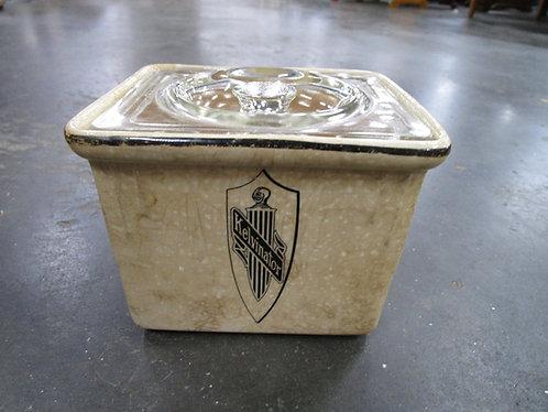 Art Deco Kelvinator Refrigerator Dish with Glass Lid