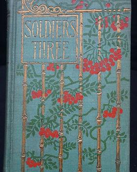 Book Soldiers Three Rudyard Kipling.JPG