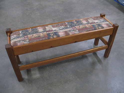 Handcrafted Children's/Shoe Upholstered Bench