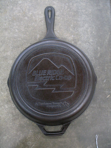 Blue Ridge Electric Co-op Cast Iron Skillet