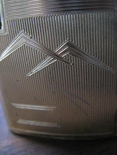 Ronson Varaflame Gold Tone Retro Engravable Lighter