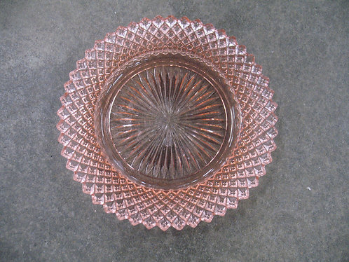 Vintage Anchor Hocking Miss America Pink Depression Glass Bread & Butter Plate