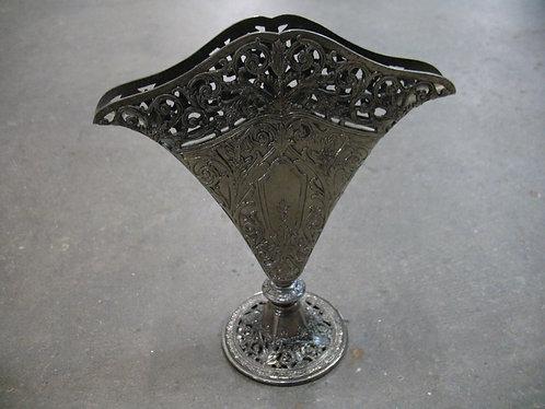 Vintage Godinger Silver Art Company Silverplate Fan Vase