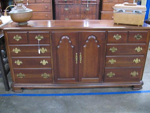 Vintage Stanley American Craftsman Collection 12 Drawer Dresser