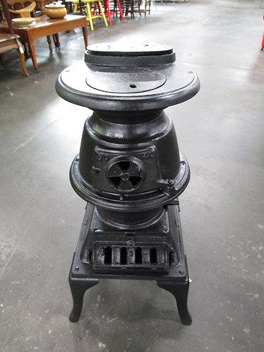 Antique Atlanta Stove Works #40 Pot Belly Coal Stove