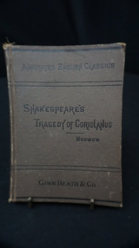 1880 Shakespeare's Tragedy of Coriolanus
