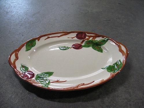 Vintage Franciscan American Apple Oval Serving Platter