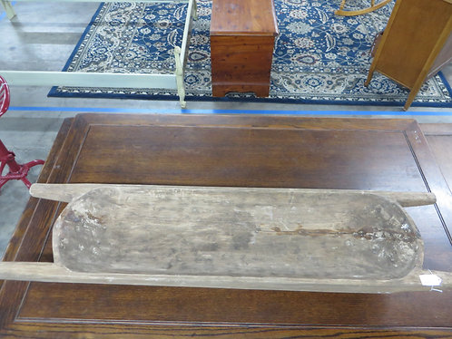 Vintage Wooden Trough with handles