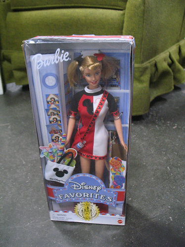 Vintage Mattel Barbie Disney Favorites Barbie NIB