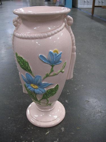 """Vintage Hull Art H-17-12 1/2"""" Floral Pedestal Urn Vase"""