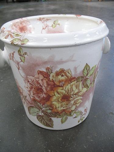 "Antique Furnivals England ""Rose Bloom"" Victorian Chamber Pot"