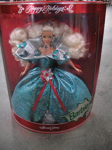 1995 Happy Holidays Special Edition Barbie NIB
