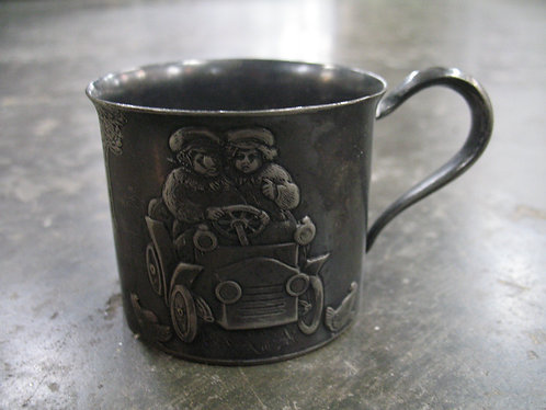 Vintage Forbes Silver Plate Co. Children's/Baby Silverplate Cup