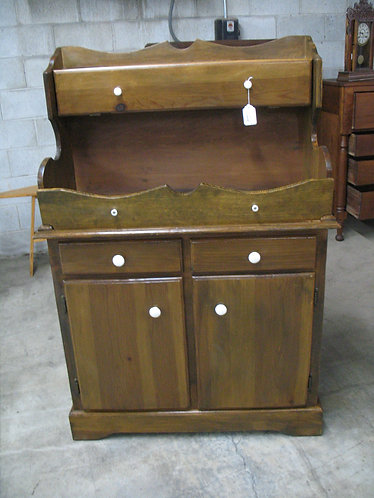 Vintage Tall Top Dry Sink Cabinet