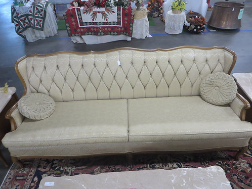 Vintage Ross Furniture Co. Tufted Back Couch