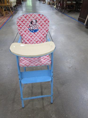 1950's J. Chein Tin Puppy Doll High Chair