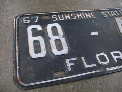 1967/1968 Florida Sunshine State 68-497