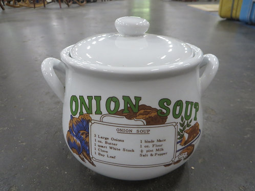 Vintage Midwestern Home Onion Soup Pot