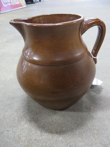 Vintage Uhl Pottery Co. Buttermilk Pitcher