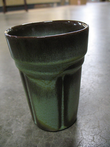 Vintage Frankoma 80C Prairie Green Pottery Tumbler