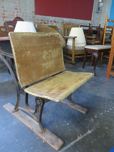 Antique Children's School Desk