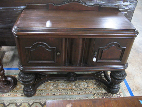 Antique Jacobean Tudor Small Server Sideboard