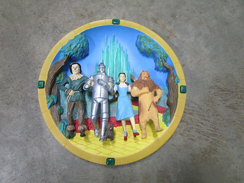 1997 Warner Bros. The Wizard Of Oz 3D Limited Edition Numbered Decor Plate