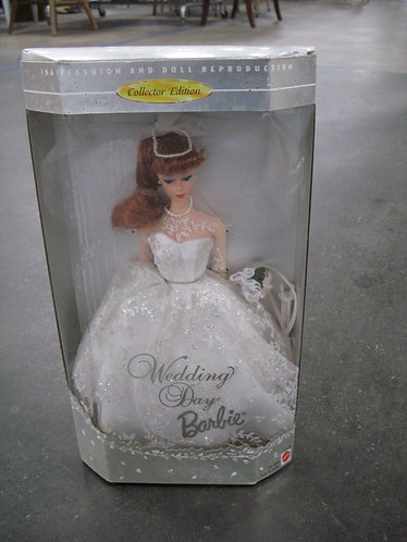 1961 Fashion & Doll Reproduction Wedding Day Collector Edition Barbie